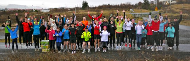 Start of Elliðaárdalur parkrun