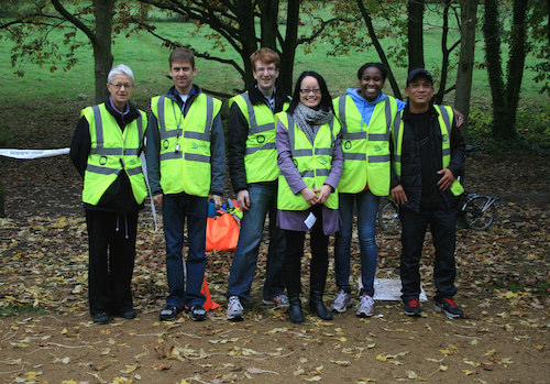 Ally Pally parkrun Volunteers
