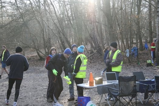 Banstead Woods parkrun Volunteers