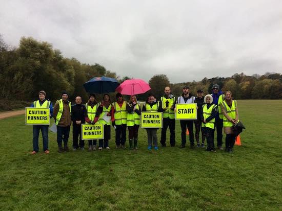 Beckenham Place parkrun Volunteers