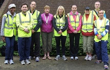 Beckton parkrun Volunteers