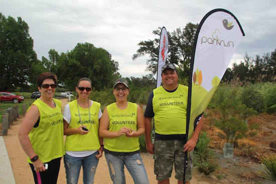 Bega parkrun Volunteers
