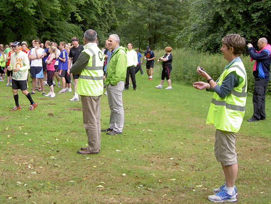 Bury St Edmunds parkrun Volunteers