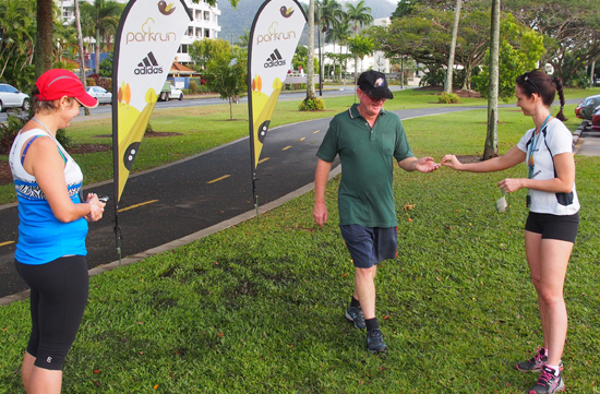 Cairns parkrun Volunteers