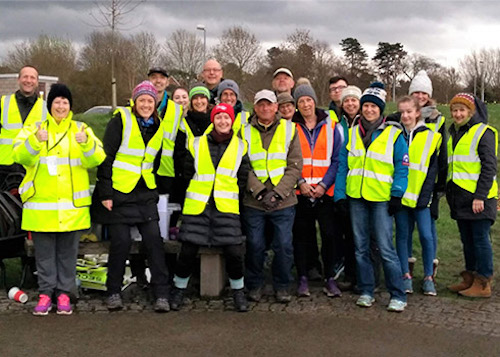 Chester parkrun Volunteers