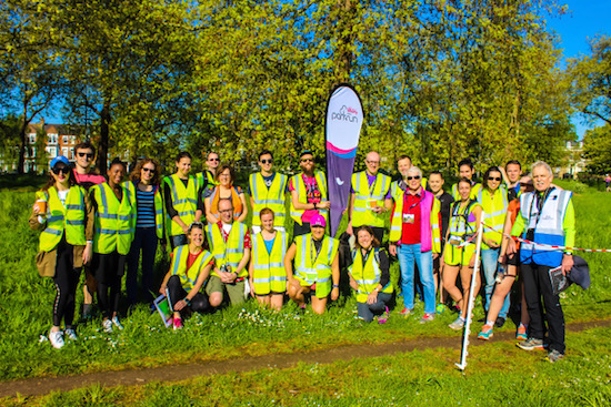 Clapham Common parkrun Volunteers