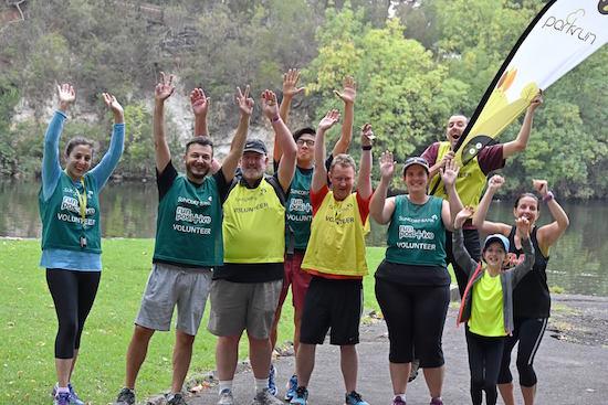 Coburg parkrun Volunteers