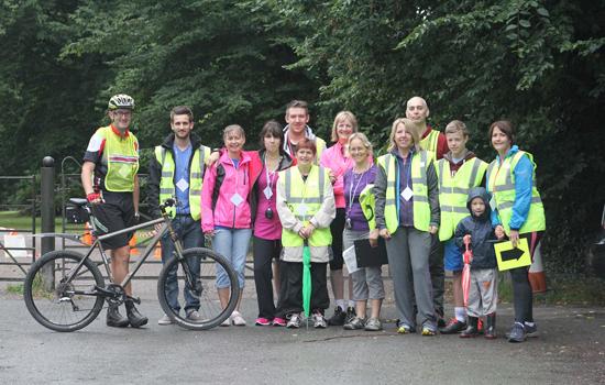 Cuerden Valley parkrun Volunteers