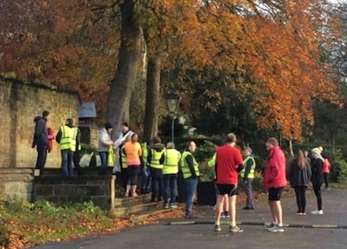 Dewsbury parkrun Volunteers