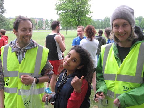 Finsbury parkrun Volunteers