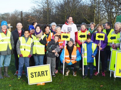Great Lines parkrun, Medway Volunteers
