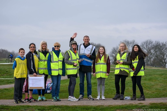 Hadleigh parkrun, Essex Volunteers