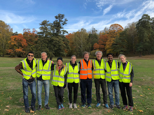 Haga parkrun Volunteers