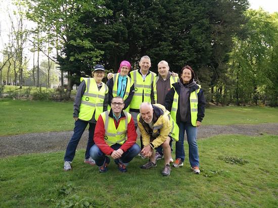 Hazlehead parkrun, Aberdeen Volunteers
