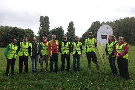 Henley Wood parkrun, Oswestry Volunteers