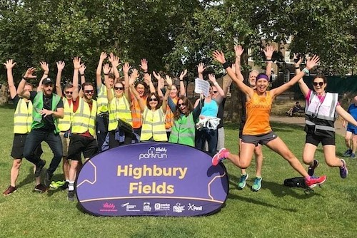Highbury Fields parkrun Volunteers