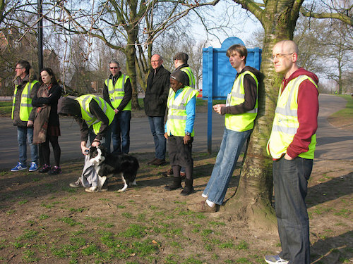 Hilly Fields parkrun Volunteers