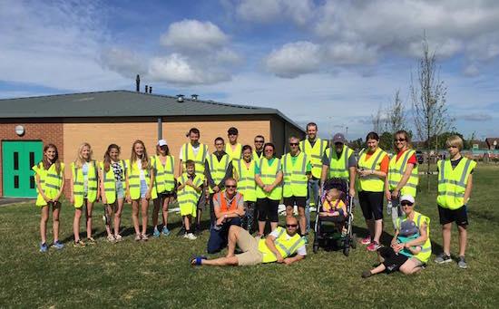 Kingsway parkrun, Gloucester Volunteers