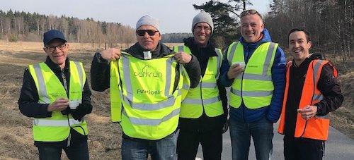 Kungsängen parkrun Volunteers
