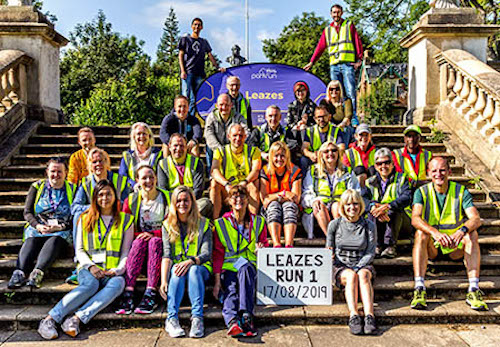 Leazes parkrun Volunteers