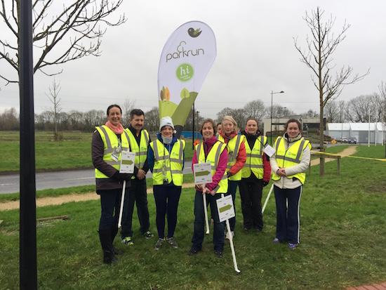 Limerick parkrun Volunteers