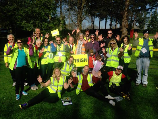 Luton Wardown parkrun Volunteers