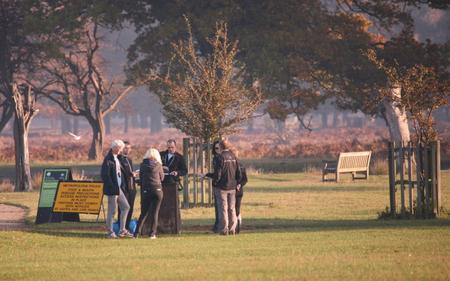 Lyme Park parkrun Volunteers