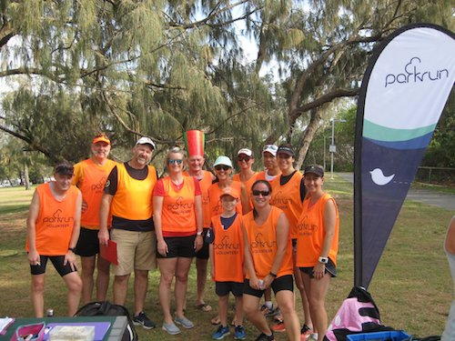 Main Beach parkrun Volunteers
