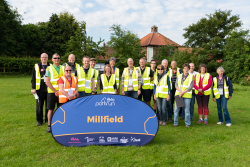Millfield parkrun Volunteers