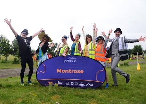 Montrose parkrun Volunteers
