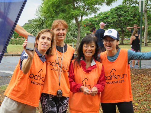 New Farm parkrun Volunteers