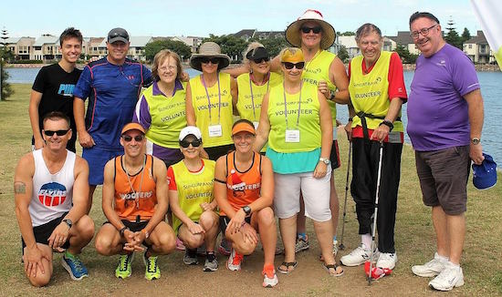 Newy parkrun Volunteers