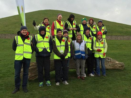 Northala Fields parkrun Volunteers