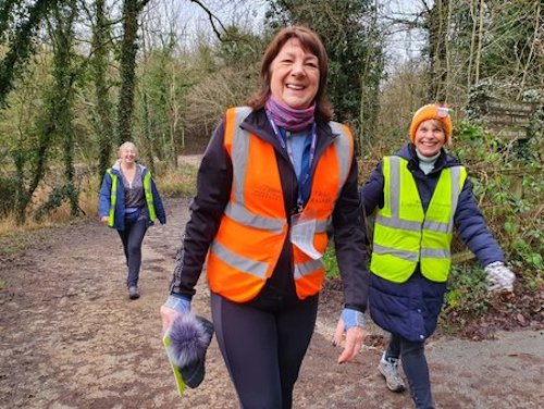 Northwich parkrun Volunteers