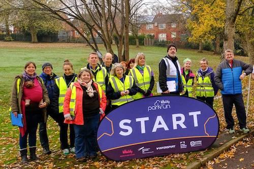 Potternewton parkrun Volunteers