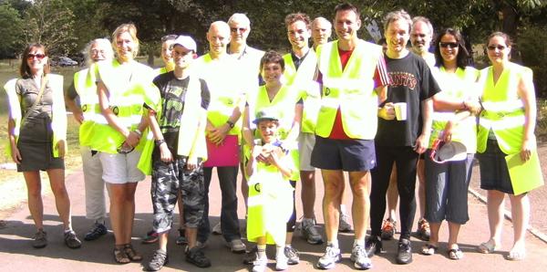 Preston Park parkrun, Brighton Volunteers
