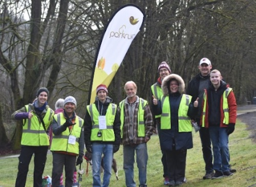 Renton parkrun Volunteers