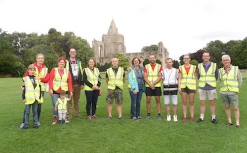 Snowden Field parkrun Volunteers