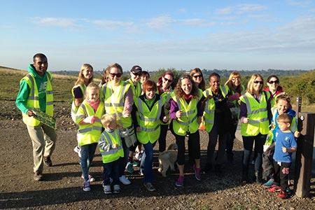 The Pastures parkrun Volunteers