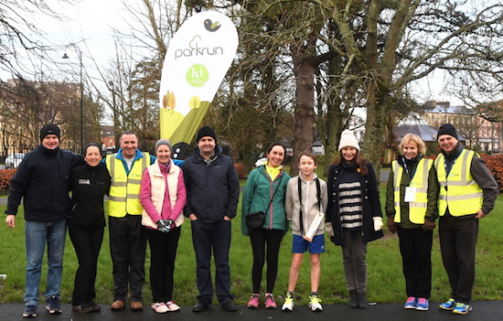 Tralee parkrun Volunteers