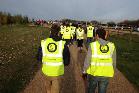 Victoria Dock parkrun Volunteers