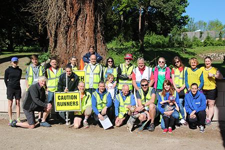 Wepre parkrun Volunteers