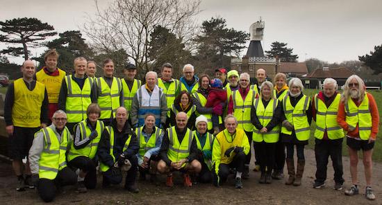 Wimbledon Common parkrun Volunteers
