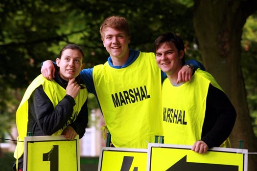 Woodhouse Moor parkrun Volunteers