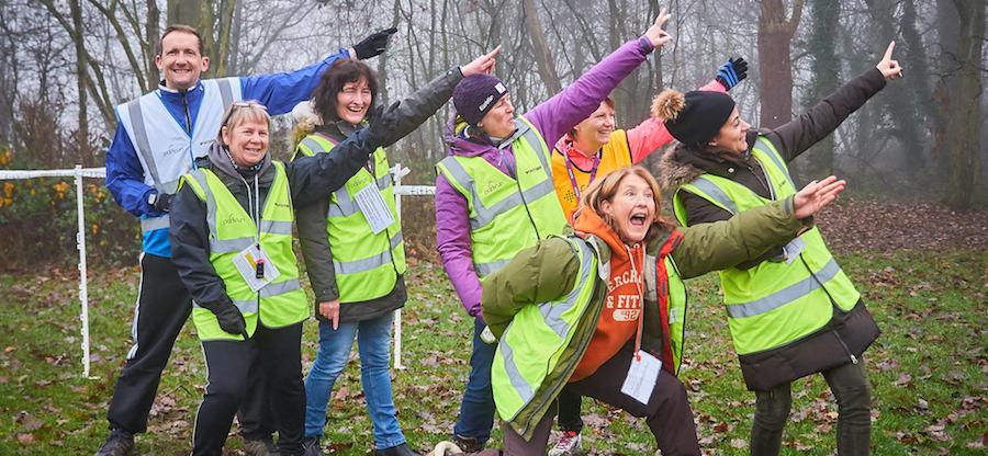 Aldenham parkrun volunteers