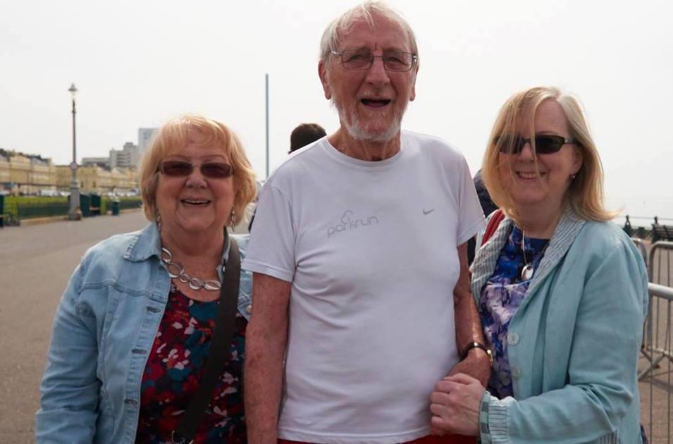John with family