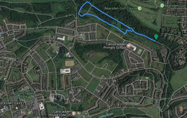 drumchapel course map