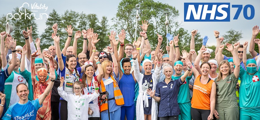 parkrun for the NHS press release image