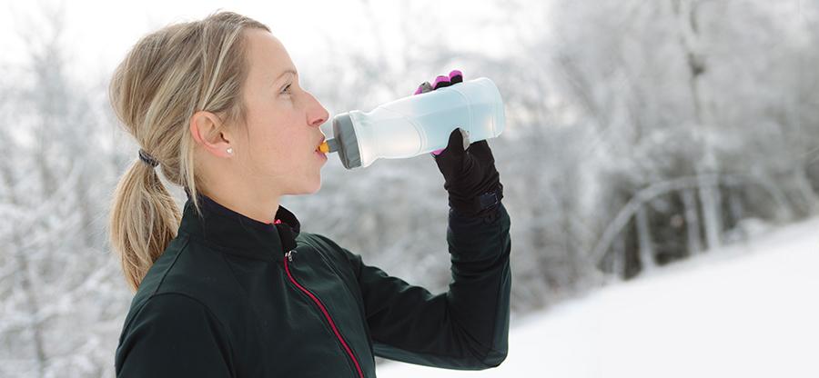 Parkrun blog drinking in winter