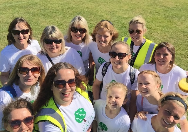 The St Paul's Surgery team at Winchester parkrun